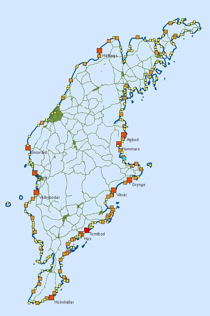 Fiskelagen Karta Region Gotland